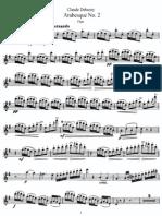 Arabesque No. 2 (Flute)