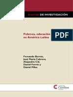 Pobreza, Educacion y Salario en America Latina