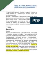 Questão 167 - CESPE - procurador TCDF