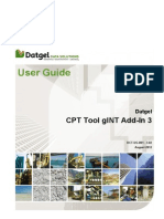 Datgel CPT Tool User Guide