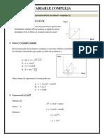 IPN. 3sem. Variable Compleja, Apuntes Para Marcial