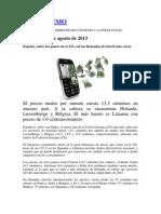 España, entre los países de la UE con las llamadas de móvil más caras