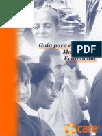 Guia Para el Diseño, Monitoreo y Evaluación