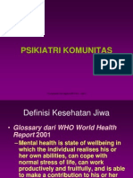 1     Psikiatri Komunitas ppt