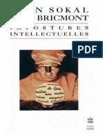 Alan Sokal, Jean Bricmont Impostures Intellectuelles, 2e Edition 1999