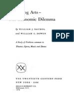 Performing Arts - The Economic Dilemma