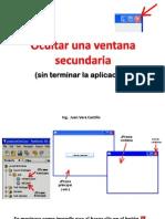 Clase CerrarVentana SinTerminarAppl