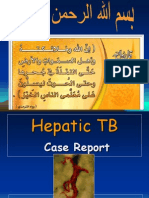 Case Report Hepatic TB
