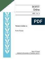 2000 - Putin's Russia