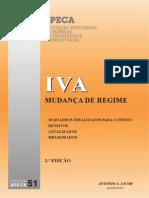 APECA - IVA Mudança de Regime