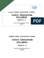 Civics Education Sylaabus -Grade 8 -9