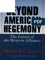 Beyond American Hegemony