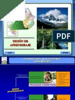 SESIÓN DE APRENDIZAJE 2012