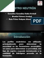 Registro Neutrón