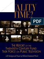 Quality Time? by TCF Task Force