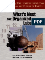 What's Next for Organized Labor? by TCF Task Force