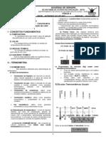 Pré -Uni 2009 - FÍSICA II - 2º ANO  Caderno - TÉRMICA - OPTICA I-1ª Parte