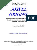 Gospel Origins