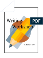 writing workshop handout pdf