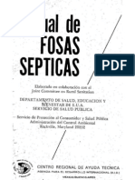63597268 Manual de Fosas Septicas