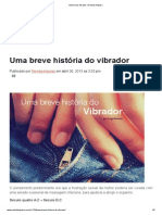 Historia Do Vibrador _ Revista Impulso
