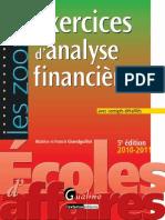 Exercices Analyse Financiere