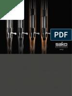 Sako Export 2013 gun catalogue