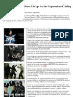 Insider News - 1717 - Shocking Travel Alert Warns US Cops Are on 'Unprecedented' Killing Spree