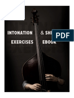 Intonation Shifting Exercises for Double Bass