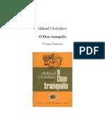 O Don Tranquilo 1 - Mikhail Cholokhov