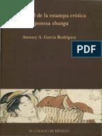 El control de la estampa erótica japonesa shunga
