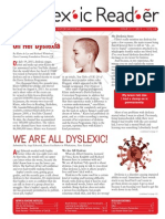 The Dyslexic Reader 2013 - Issue 64
