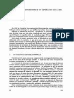 Canellas, Angel - La Investigacion Historica en Espana de 1830 a 1850