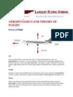Aerodynamics and Theory of Flight