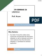 EOP Statistics CHAPTER 1