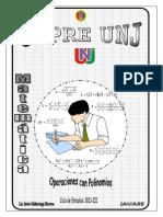CEPRE Tema 03 Operaciones Con Polinomios-Productos Notables