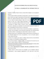 Guia Del Informe Final de Servicio Social