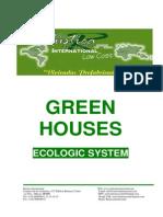 Greenhouses Ecologicsystem