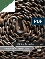 Diagrama Del Cadena Critica. Intec. Metodo de la Cadena Critica. Prof. Derby Gonzalez