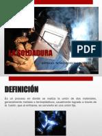 La Soldadura Diapositivas