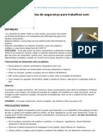 Temseguranca.com-DDS Recomendaes de Segurana Para Trabalhos Com Maarico