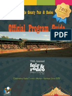 Eagle County Fair & Rodeo Program Guide