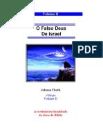 Volume II - O Falso Deus de Israel - Johann Thoth
