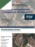 Proposta de Manejo da Bacia Hidrográfica da Vila chaves