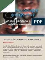 INTRODUCCIÓN A LA PSIC CRIMINAL