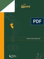 Publicación Perfil del Turista Extrangero 2007