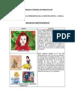 Expresion Literaria en Preescolar