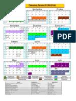 Calendario 2013B-2014A OFICIAL - Copia