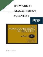 Manual Management Scientist123