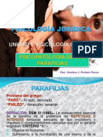 Psicopatologia de Las Parafilias